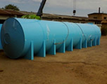 Накопительная бочка 10 м3 для питьевой воды